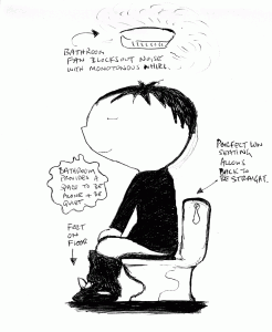 Bathroom Meditation